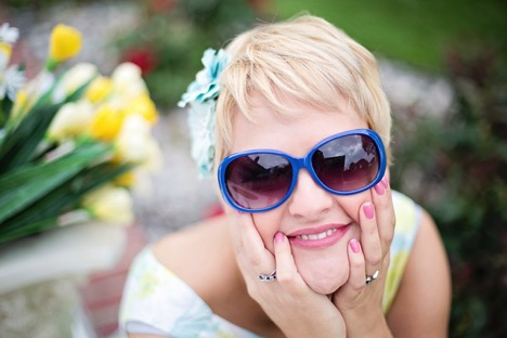 All About August - Summer Lady with Shades