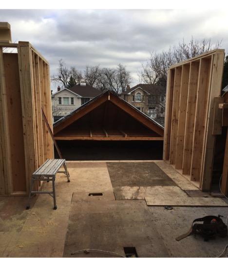 Contractors - House under renovation