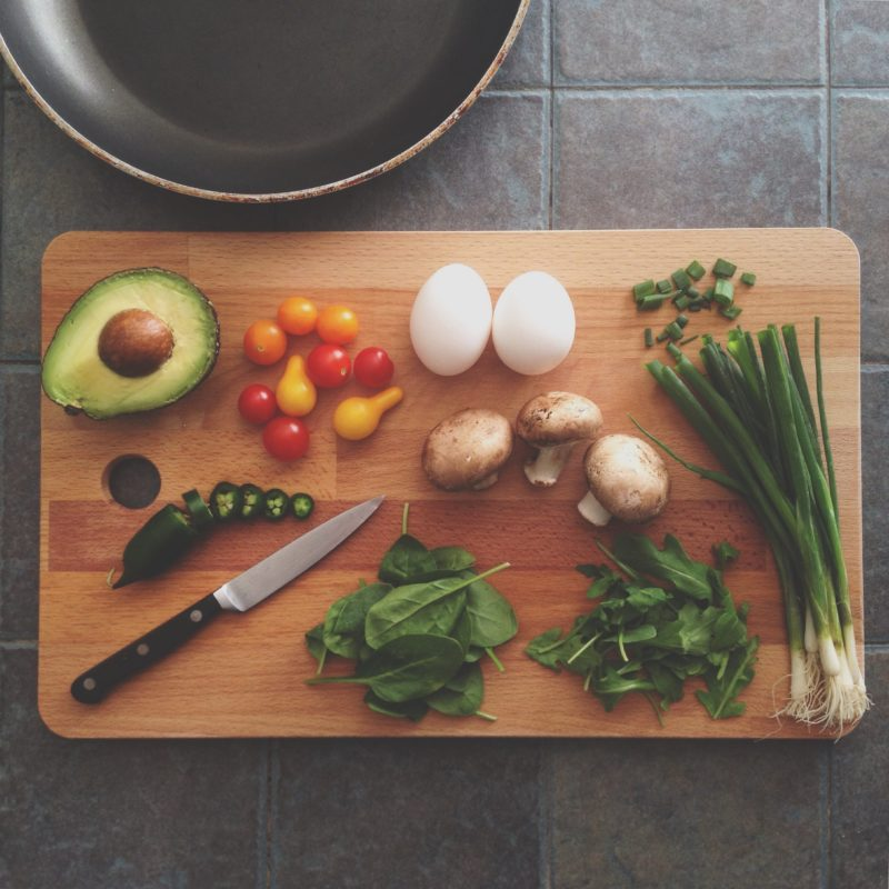 Clean T.O 6 Habits to Keep Your Kitchen Clean picture of cutting board