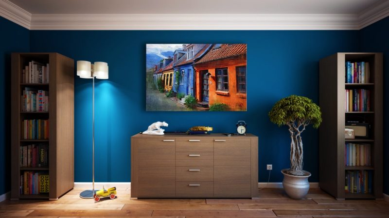 Clean T.O: It's Not Clutter, it's Maximalism Blue Room