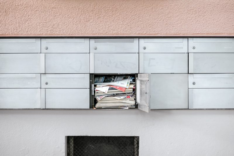 Clean T.O Why Your Condo Should NEVER be Unoccupied Picture of Mail