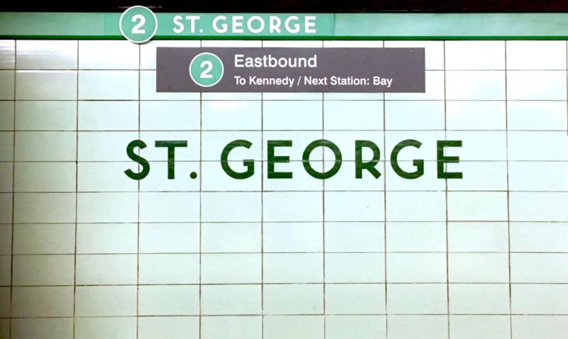 How Clean Is Your TTC Station? St. George
