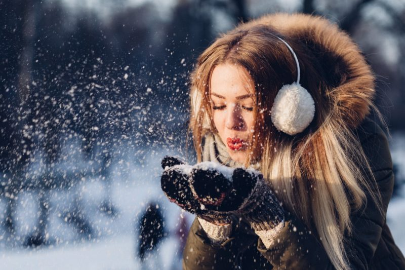 Can You Stay Warm and Still Look Cute? Ear Muff