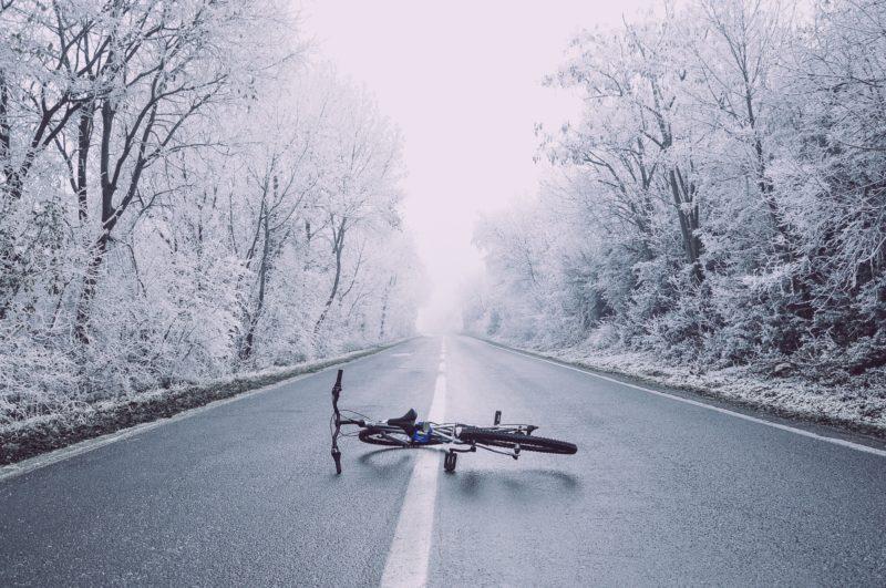 Respect for Toronto's Winter Biking Warriors (Pt. 1) Fallen Bike