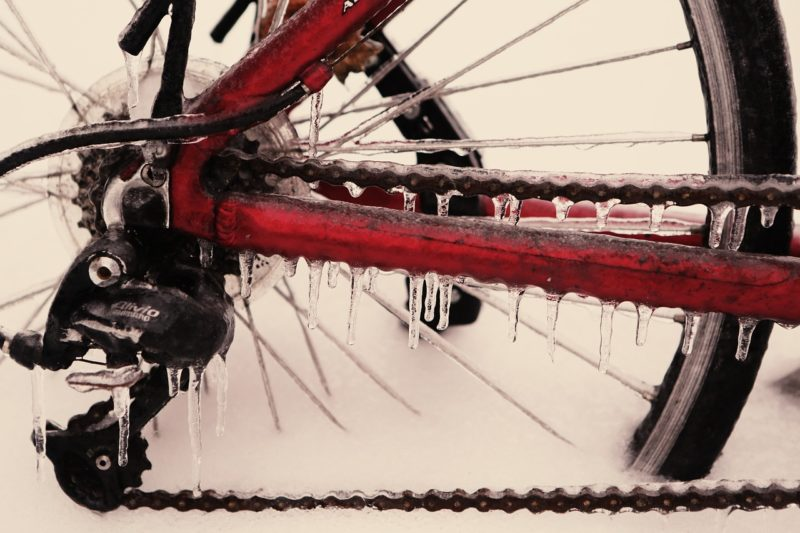 Respect for Toronto's Winter Biking Warriors (Pt. 1) Frozen Chain