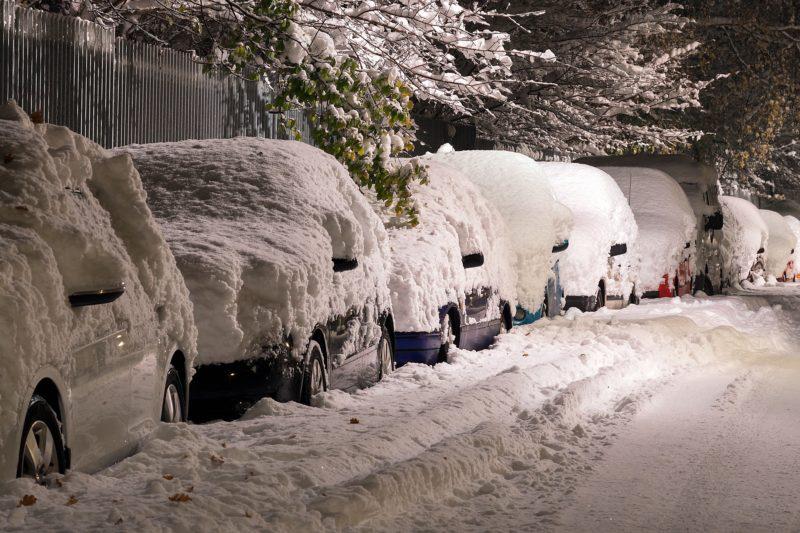 Respect for Toronto's Winter Biking Warriors (Pt. 1) Snowy Street