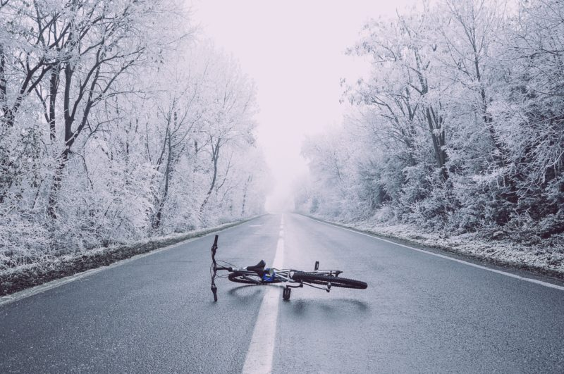 Respect for Toronto's Winter Biking Warriors (Pt. 1) Fallen Bike