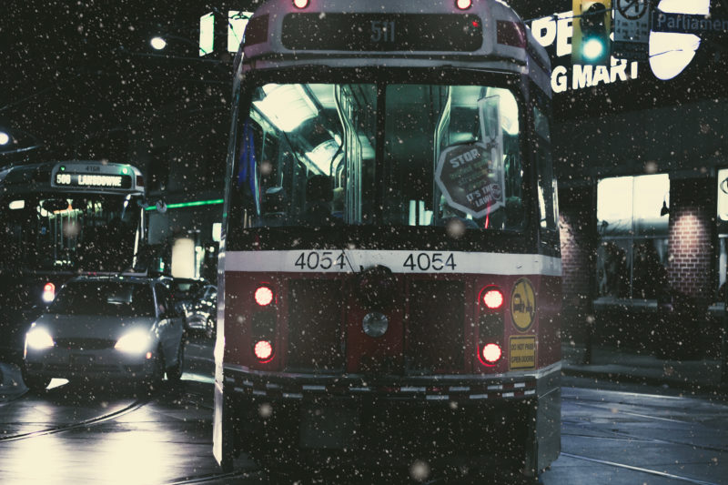 Respect for Toronto's Winter Biking Warriors (Pt. 1) Winter Streetcar