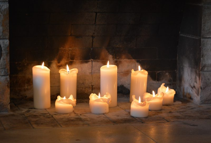 The Candle Wax Solution You'll Melt Over Brick
