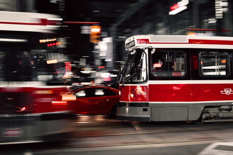 Um Toronto Just Cleaned Up King St… Streetcars In Motion