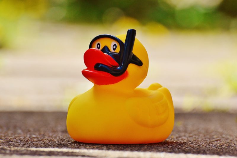 The Lazy Person's Ultimate Guide to Cleaning Rubber Ducky