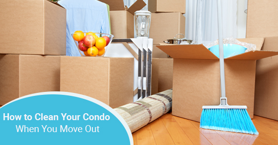 condo cleaning when moving out