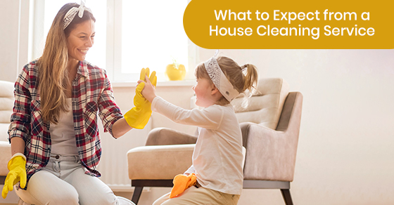 house cleaning during holidays