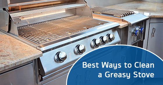 Best Ways to Clean a Greasy Stove