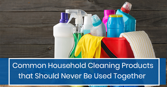 Common Household Cleaning Products that Should Never Be Used Together
