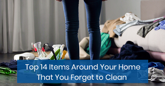 Top 14 Items Around Your Home That You Forget to Clean
