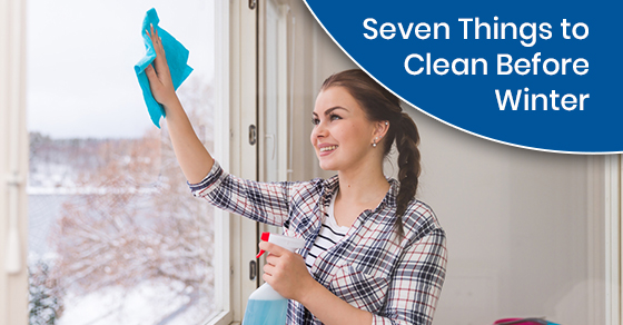 Tips for winter cleaning