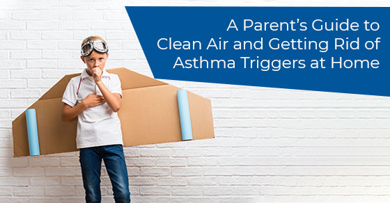 House cleaning tips for asthma patients