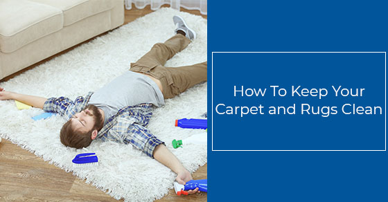 Tips to keep your carpet and rugs clean