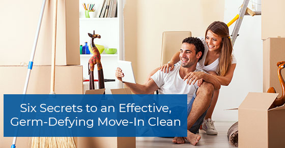 Tips for move-in cleaning