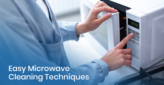 Tips to clean microwave