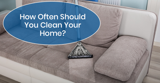 Right time for residential cleaning