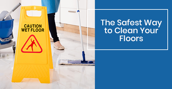 Safety tips for floor cleaning
