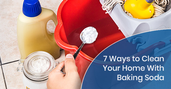 7 Ways to Clean Your Home With Baking Soda