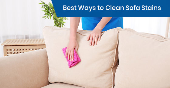 Best Ways to Clean Sofa Stains
