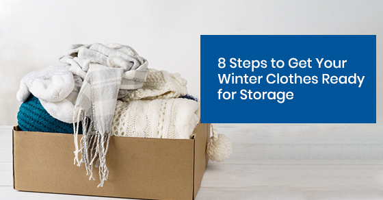How to get winter clothes ready for storage?