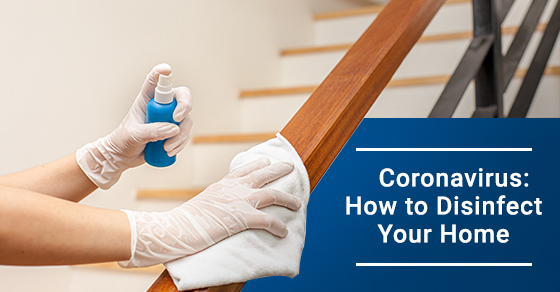 How to disinfect your home during this quarantine