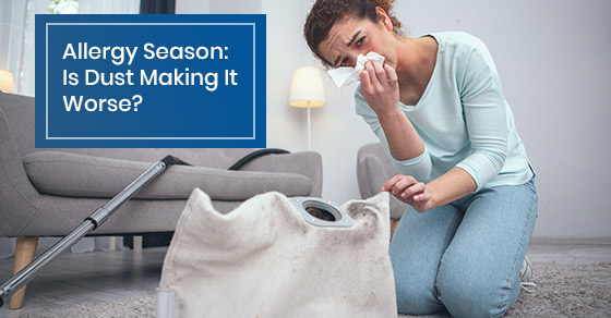 Dust allergy issues and cleaning