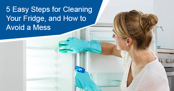 How to clean a fridge and avoid the mess?