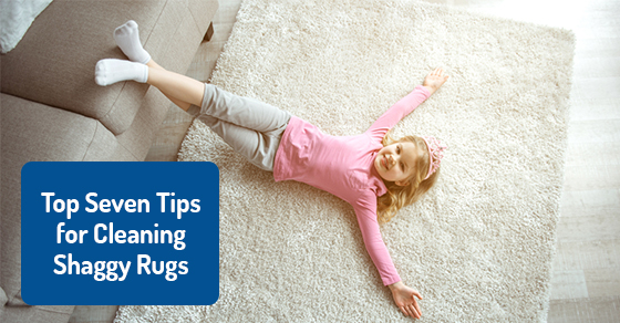 Top Seven Tips for Cleaning Shaggy Rugs