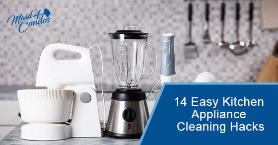 Easy Kitchen Appliance Cleaning Hacks
