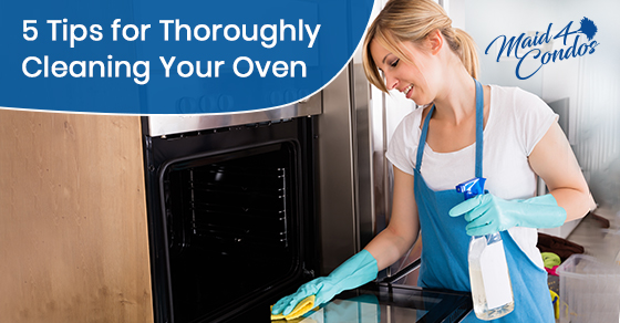 How to clean your oven thoroughly?