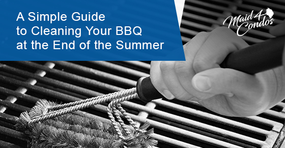 How to clean your BBQ at the end of the summer?